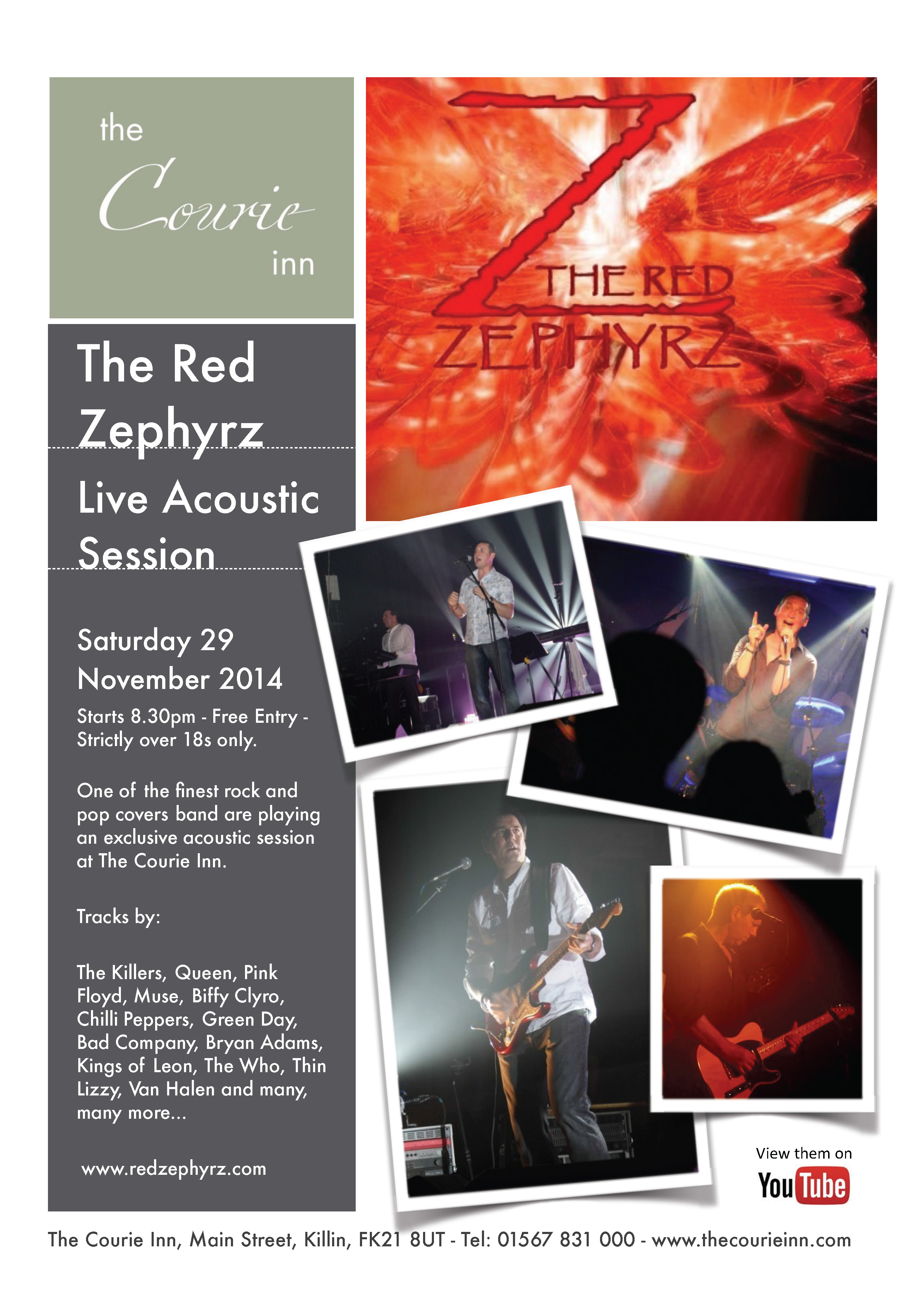 The Red Zephyrz at The Courie Inn
